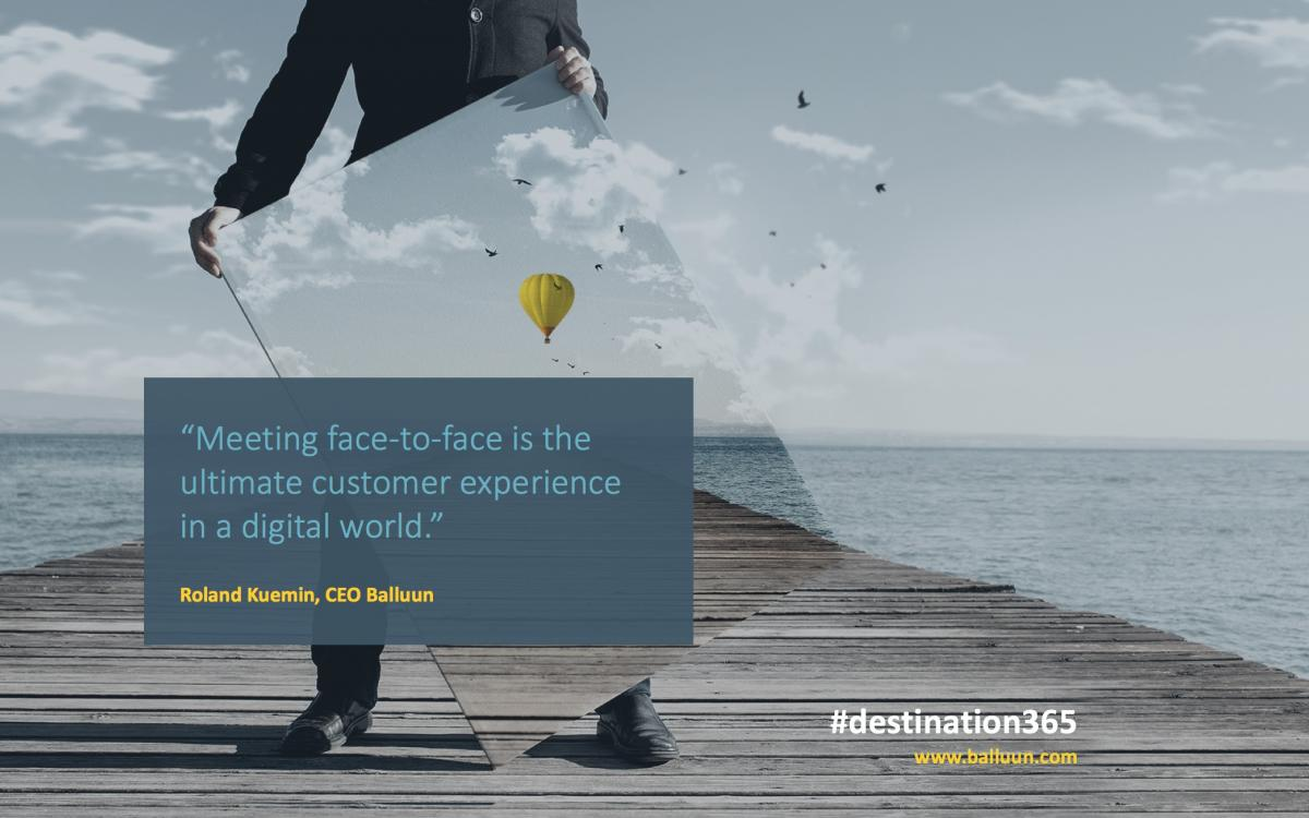 Face-to-Face is the Ultimate Customer Experience in a Digital World